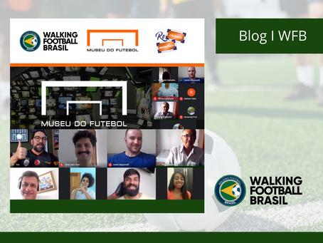 Walking Football Brasil realiza parceria com o Museu do Futebol