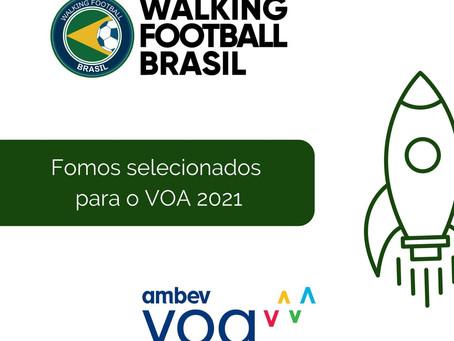 Walking Football Brasil é selecionada para programa de aceleração de impacto social VOA Ambev