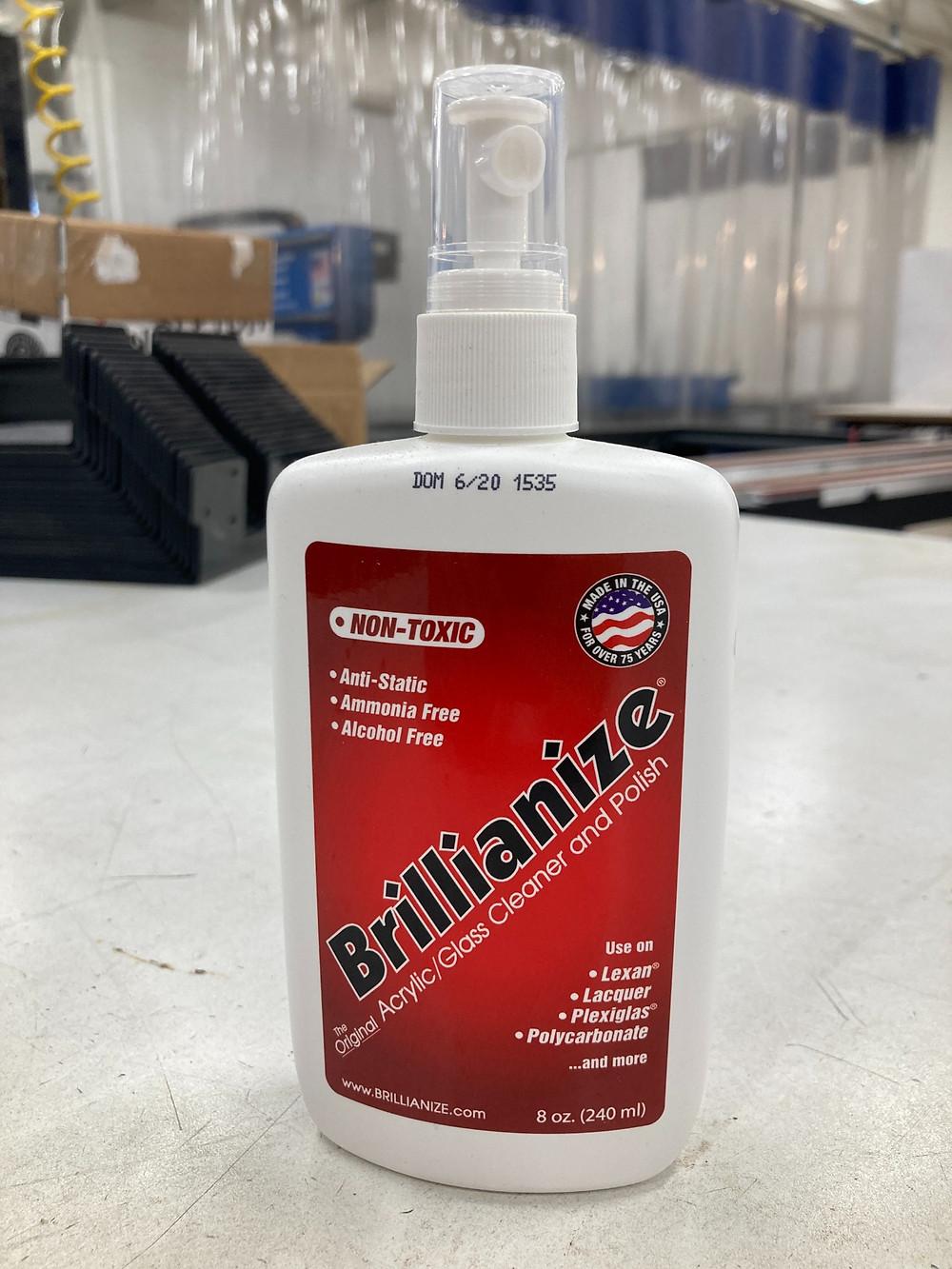 Brillianize- the best plastic cleaner