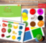 Learning Colors for Toddlers 1-3 yars old