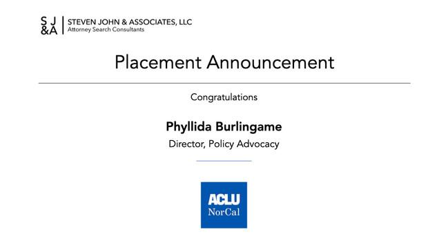 Placement Announcement_2020_P Burlingame