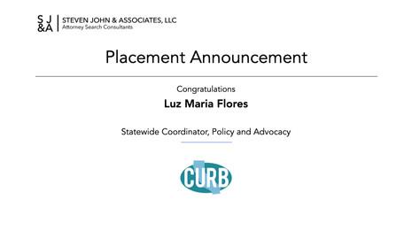 Placement Announcement_CURB_Flores_2021.