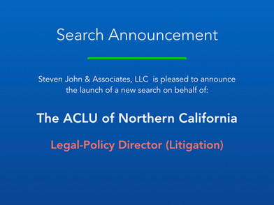 Search Announcement_ACLUNC_L-P Director