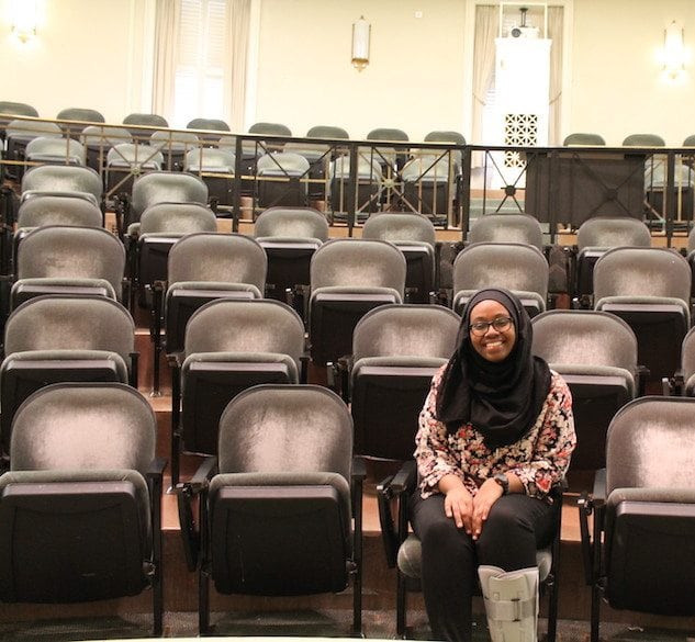 Ghufran Salih brings compassion and selflessness to her Student Association presidency