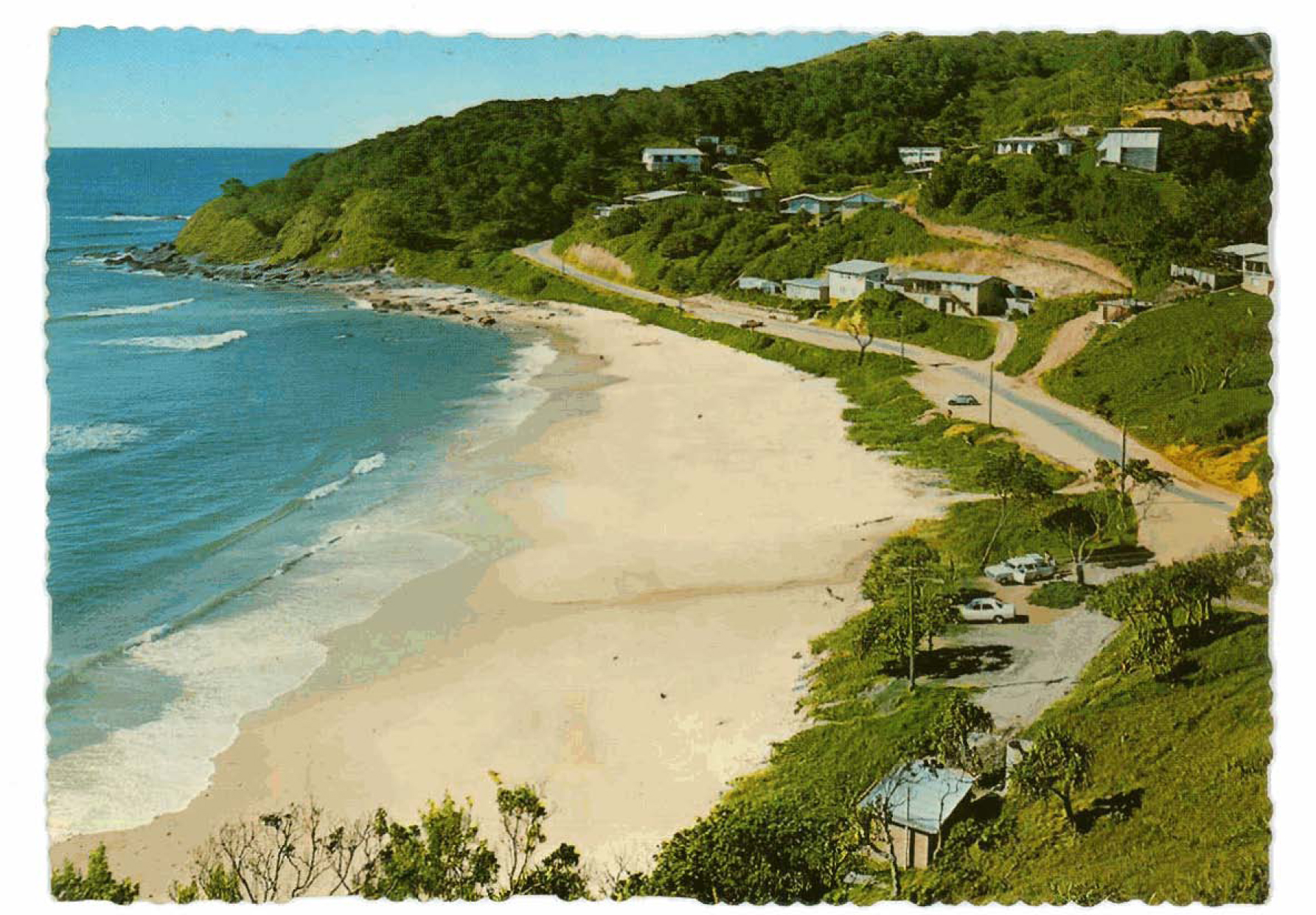 Wategos Beach in the 1970's
