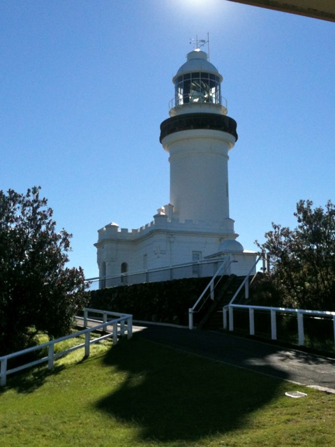 The Lighthouse above Wategos