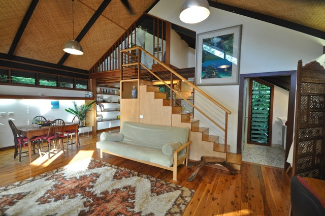 Staircase to Bedroom Loft