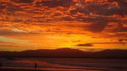 Sunset at Wategos