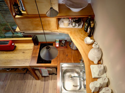 Kitchen from stairs