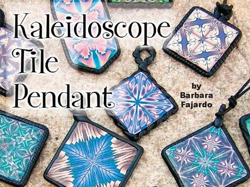 Kaleidoscope Tile Pendant 2004