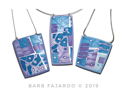 Barb Fajardo's Controlling the Chaos - Pendants