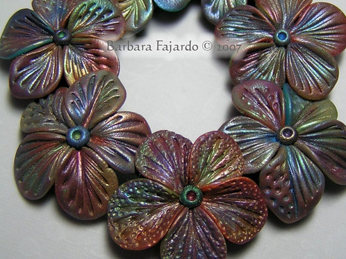 Intro to Textured Flora Beads 2009