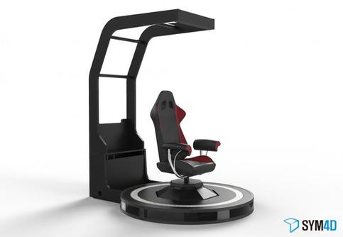 그론형 VR 모션 시뮬레이터