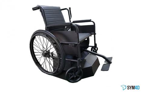 휠체어형 VR 모션 시뮬레이터