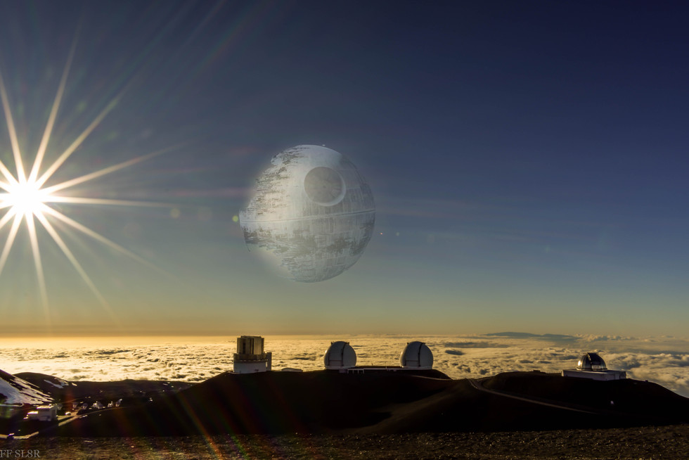 Mauna Kea Death Star