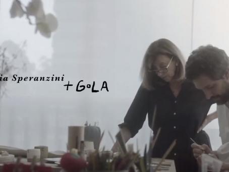 Claudia Speranzini + Gola em Kintsugi