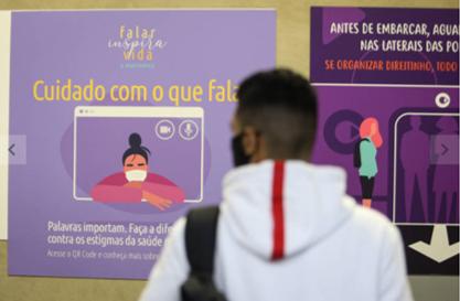 Metrô de São Paulo ganha vagão do acolhimento no Setembro Amarelo