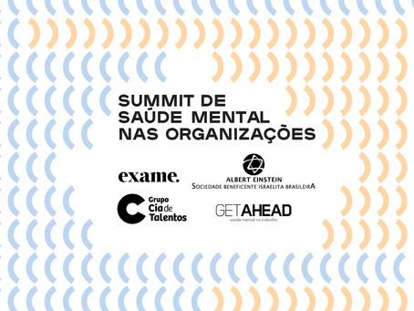 """Participe do Exame Experience no """"Summit de Saúde Mental nas Organizações"""""""