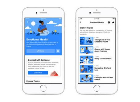 Facebook e WhatsApp ganham recursos voltados à saúde mental