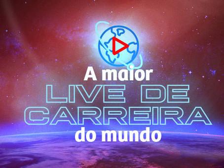 """Rodrigo Bressan participa da """"Maior Live de Carreira do Mundo"""""""