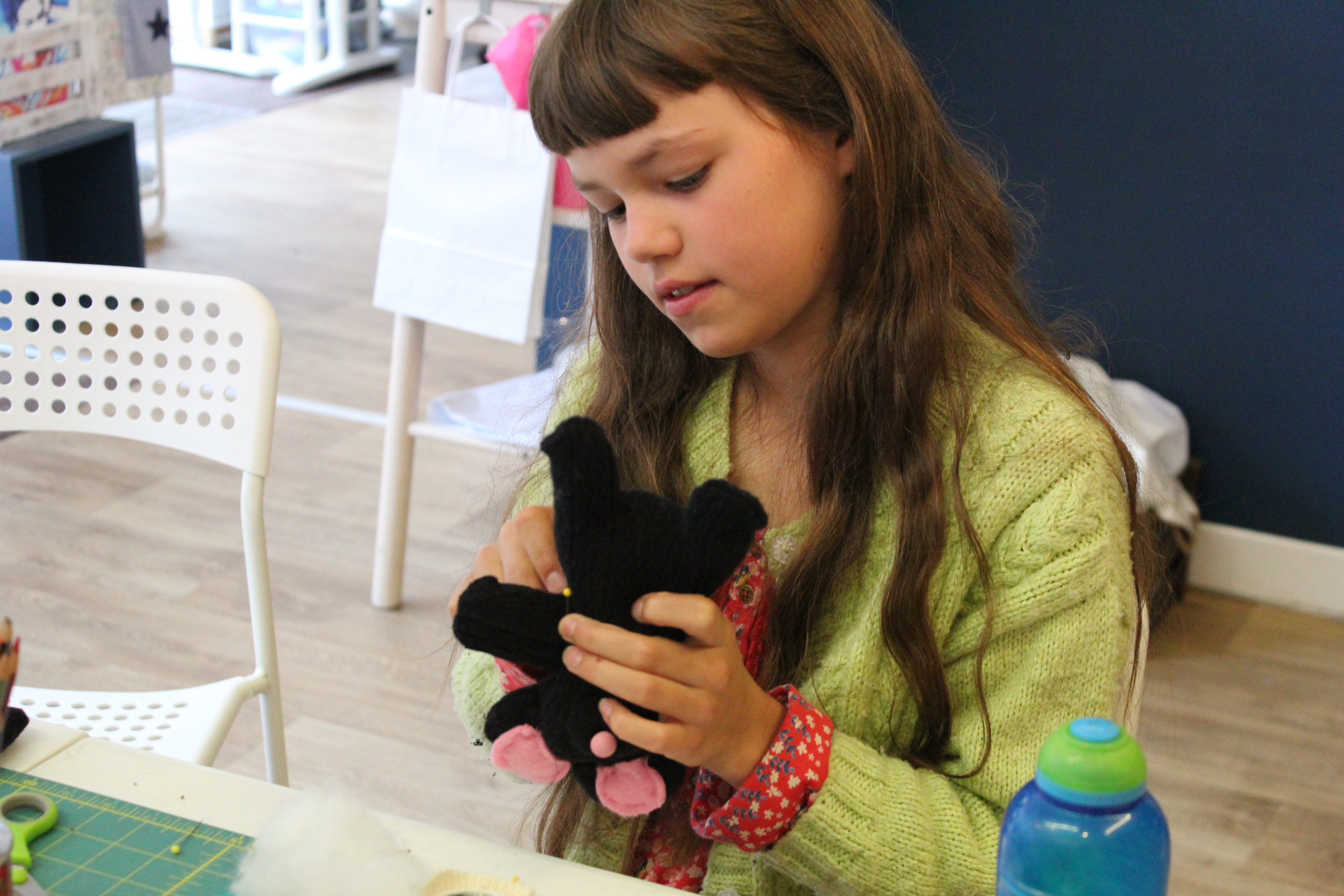 sock monkey workshop