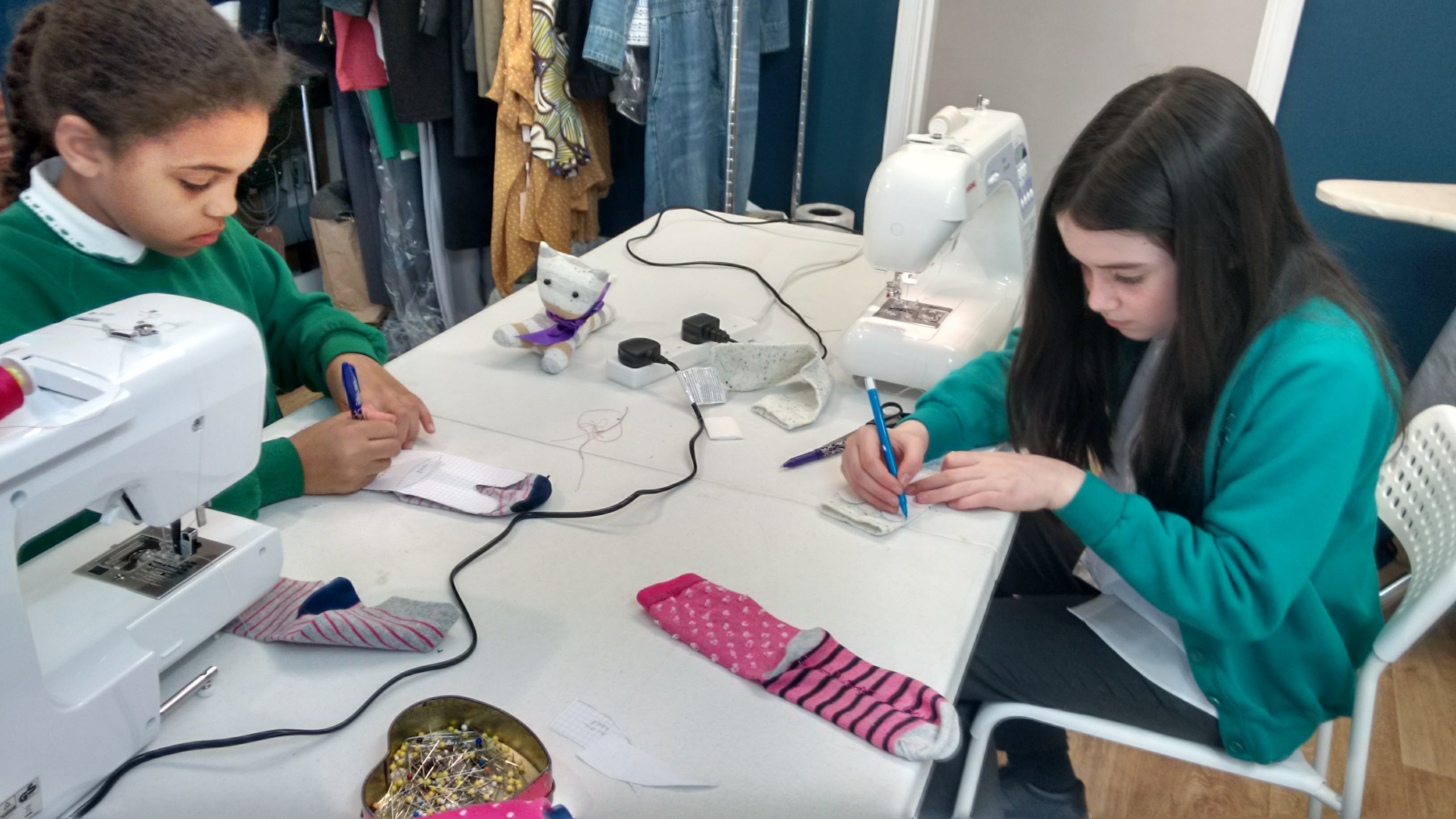 after school sewing
