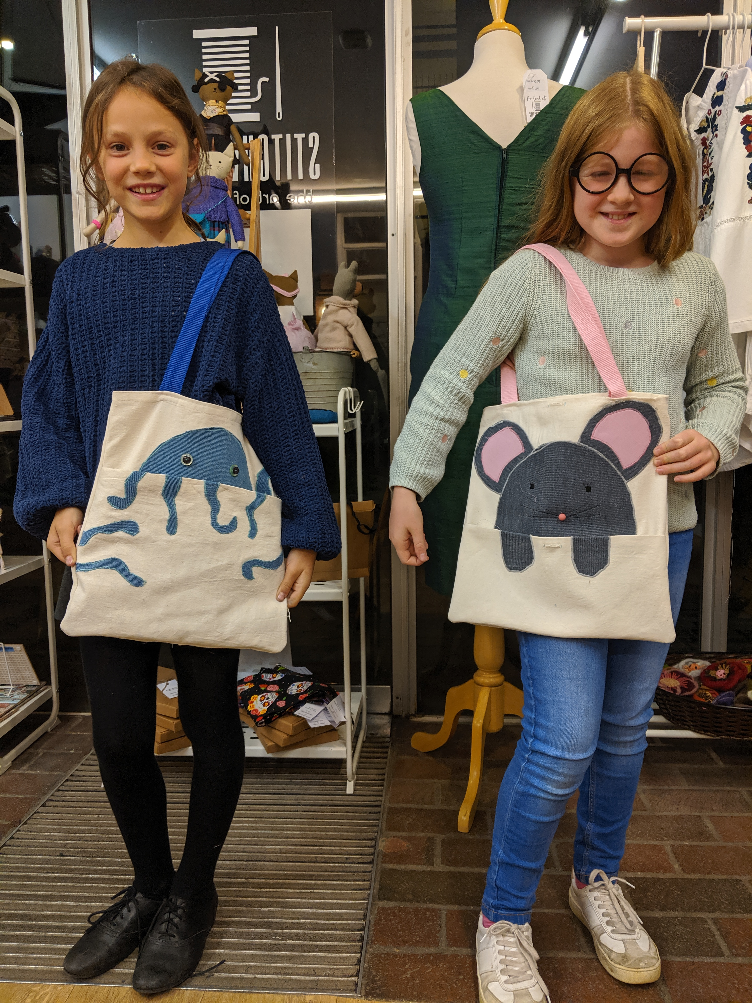 Sophie an dIsabel bags