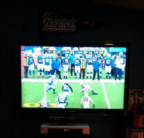 Patriots on TV