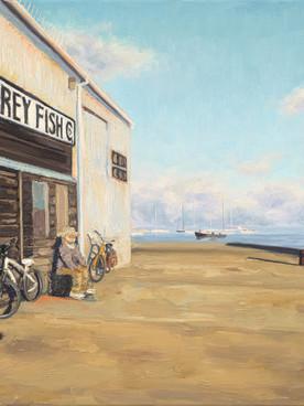 Monterey Fish Company Figures and Bikes