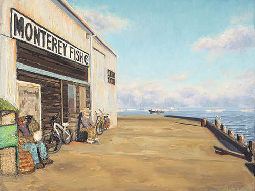 Monterey Fish Company (figures and bikes)