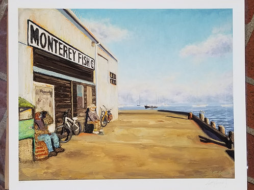 The Monterey Fish Company (figures and bikes)