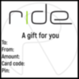 Rid gift card