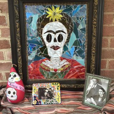Frida with Heart