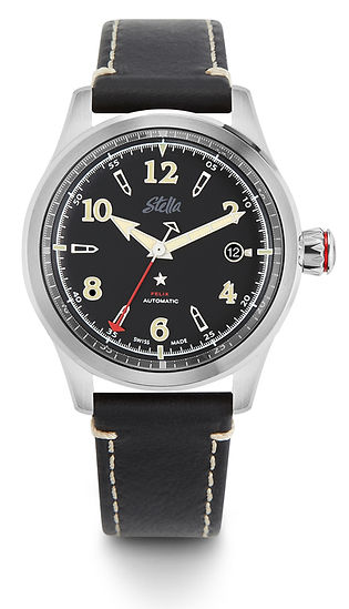 Stella Felix 77 Blackout Swiss Automatic Watch
