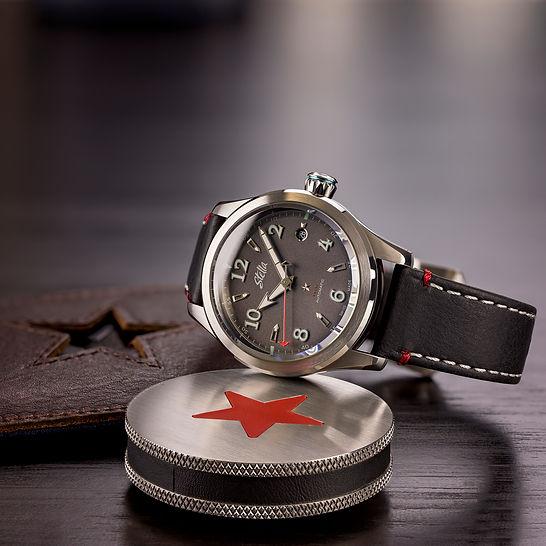 Stella Felix Times Grey Swiss Automatic Watch