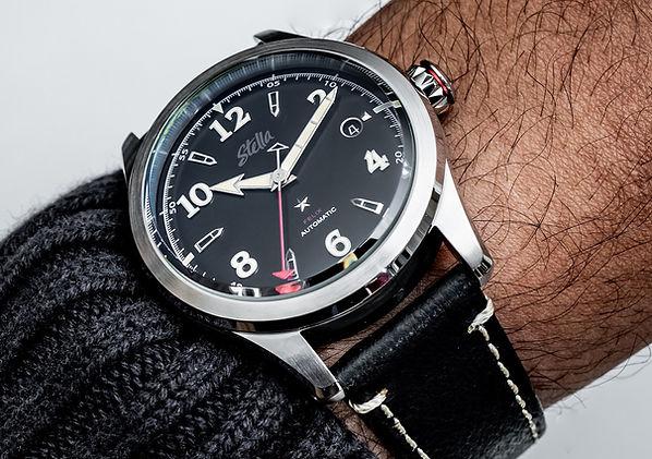 Stella Felix Blackout Swiss Automatic Watch