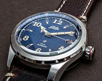 Stella Felix Dress Blues Swiss Automatic Watch