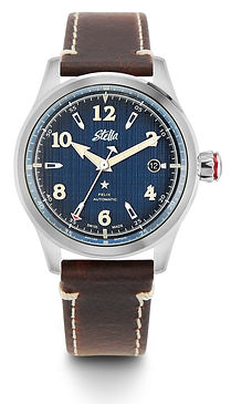 Stella Felix Dress Blues Swiss Automatic Watch