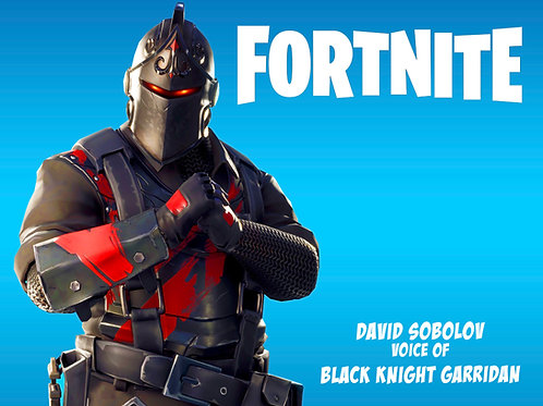 Fortnite - Black Knight Garridan