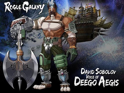 Rogue Galaxy - Deego Aegis