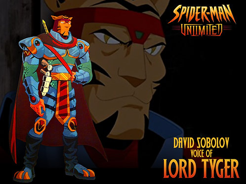 Spiderman Unlimited - Lord Tyger