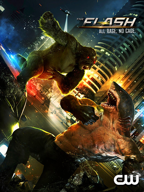 Grodd Vs King Shark
