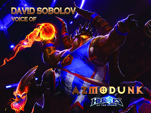 Heroes of the Storm - Azmodunk