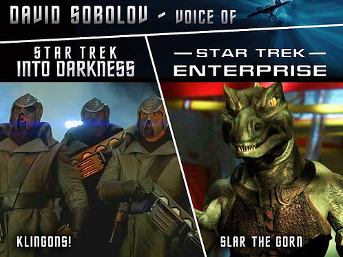 Star Trek Into Darkness and Enterprise roles