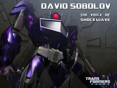 Transformers Prime - Shockwave
