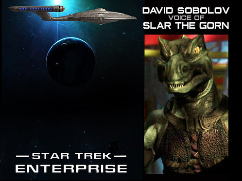 AVAIL March 20th - Star Trek Enterprise -Slar the Gorn