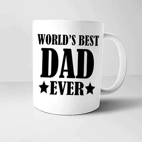 Taza World's Best Dad Ever