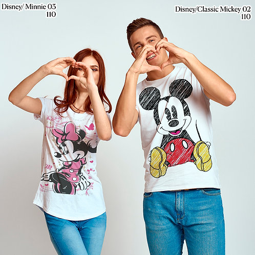 Parejas Classic Mickey & Minnie