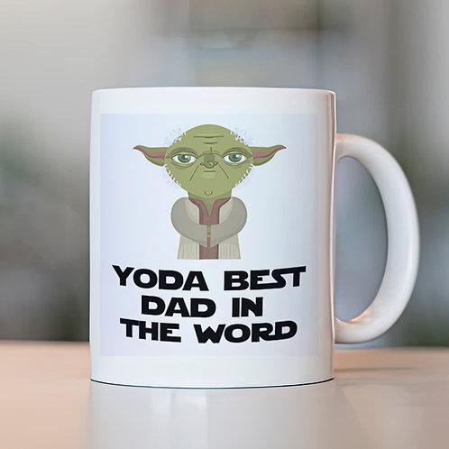 Taza Yoda Best Dad in the world