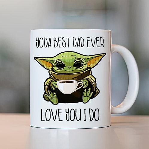 Taza Yoda Best Dad Ever
